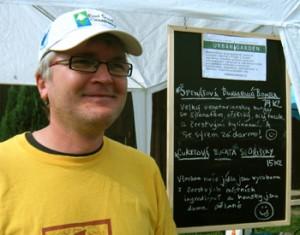 Rozhovor s Danielem Mourkem, Nadace Partnerství, program Zelené stezky/Greenways k tematu/Farmářské tržiště